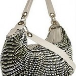 Diane Von Furstenberg Stephanie Woven Leather Shoulder Bag 2