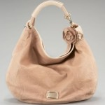 Jimmy Choo Sky Snake Trim Leather Hobo