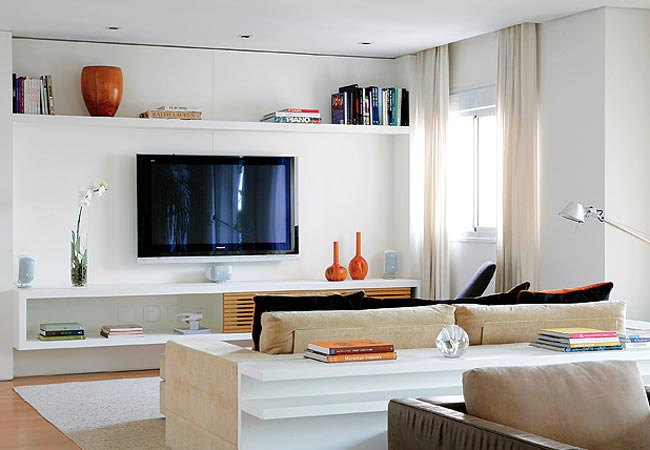 Sala De Tv E Home Theater ~ ItensdeDecoraçãoparaSala1