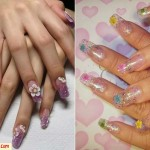 unhas decoradas de gel 150x150 Unhas decoradas 2012   Fotos