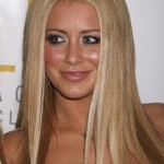 Aubrey O'Day Celebrates Her 25th Birthday at Jet Las Vegas on February 13, 2009