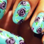 unhas decoradas estampas florais 12 150x150 Unhas decoradas com Estampas Florais