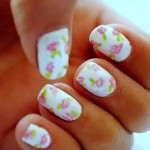 unhas decoradas estampas florais 15 150x150 Unhas decoradas com Estampas Florais