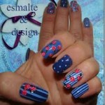 unhas decoradas estampas florais 18 150x150 Unhas decoradas com Estampas Florais