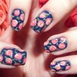 unhas decoradas estampas florais 2 150x150 Unhas decoradas com Estampas Florais