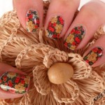 unhas decoradas estampas florais 3 150x150 Unhas decoradas com Estampas Florais