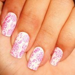 unhas decoradas estampas florais 4 150x150 Unhas decoradas com Estampas Florais