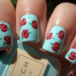 unhas decoradas estampas florais 7 150x150 Unhas decoradas com Estampas Florais