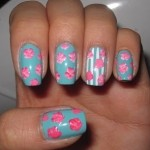 unhas decoradas estampas florais 8 150x150 Unhas decoradas com Estampas Florais