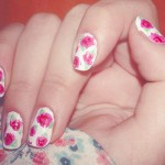 unhas decoradas estampas florais 9 150x150 Unhas decoradas com Estampas Florais