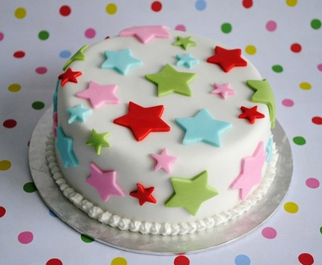 Cake Decorating Ideas Stars : Bolos Decorados - Lindos modelos Cake Design 2017