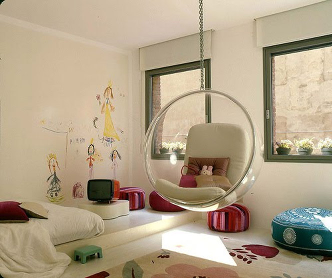 Cadeiras e poltronas criativas for Cool hanging chairs for bedrooms
