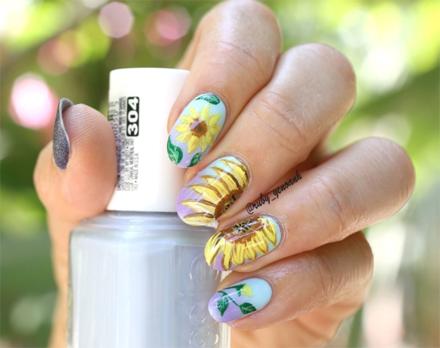 easy-sunflower-nail-art-2016-17
