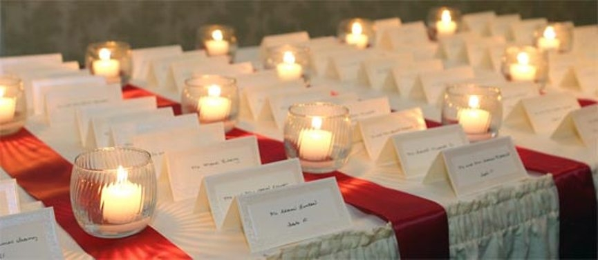 wedding-reception-candles